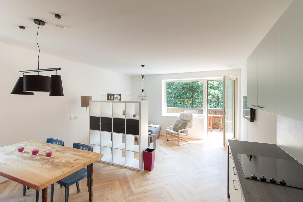 unterkunft in lunz am see ferienwohnung bee home f r 2 4 personen. Black Bedroom Furniture Sets. Home Design Ideas