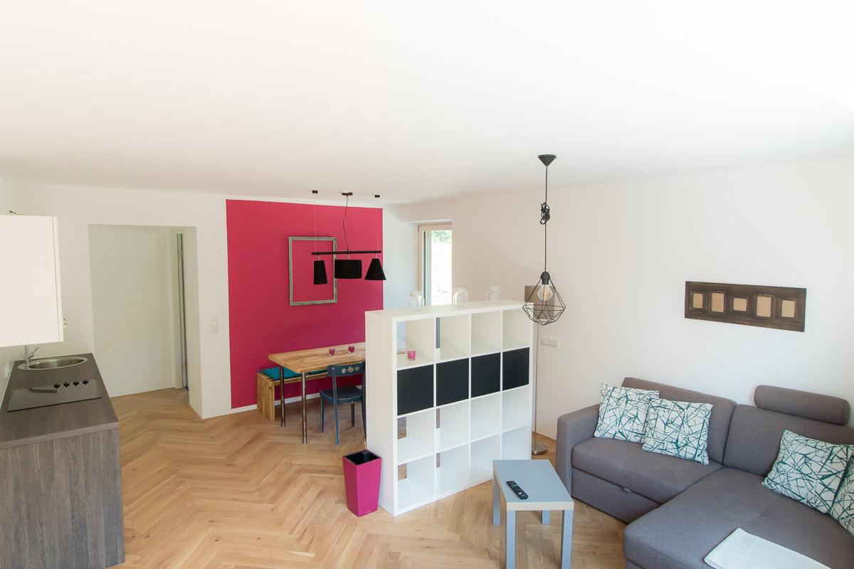 Ferienwohnung BEE HOME in Lunz am See - Wohnküche