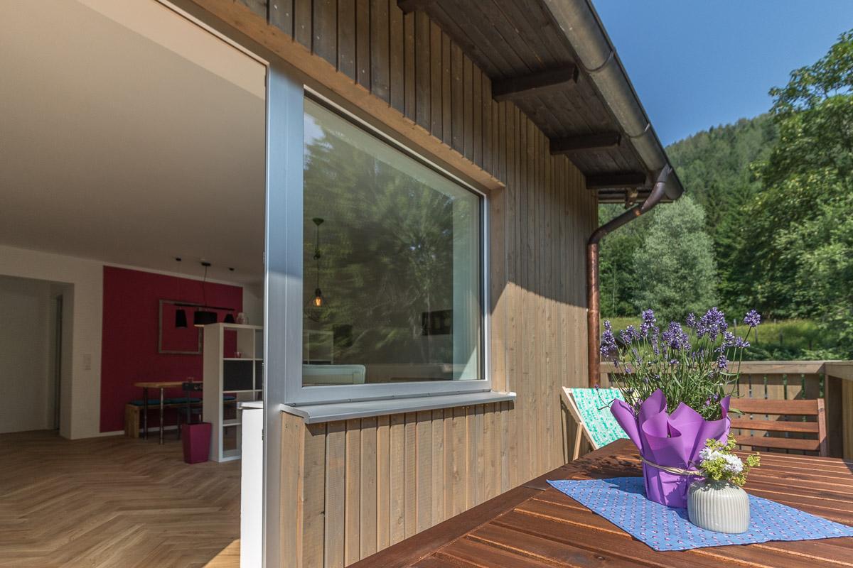 Ferienwohnung BEE HOME in Lunz am See - Balkon