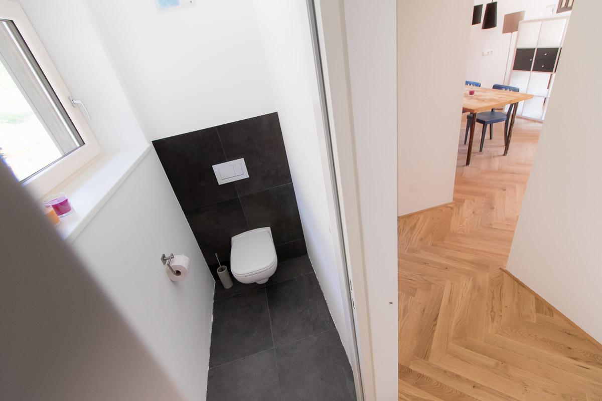 Ferienwohnung BEE HOME in Lunz am See - WC