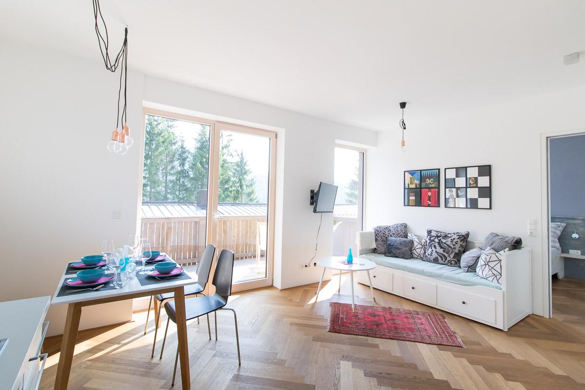 Ferienwohnung BEE YOU in Lunz am See - Wohnküche